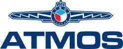 Logo ATMOS sirka 100 pixelu