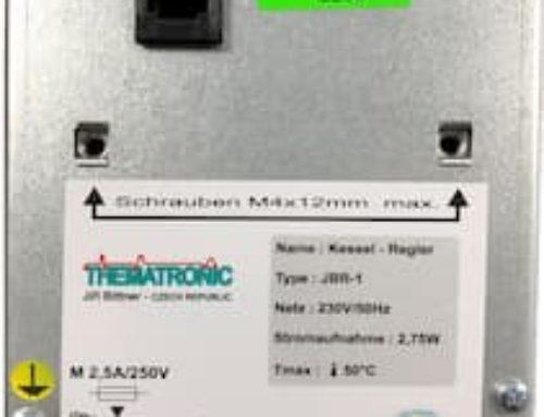 Jak zjistit výrobní číslo regulátoru JER-1