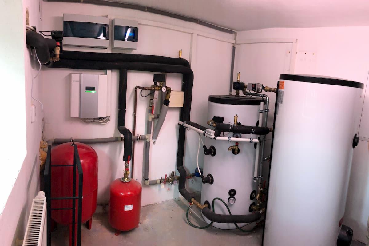 Montaz tepelneho cerpadla NIBE F2120-12