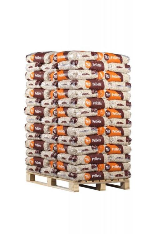Paleta drevenych pelet ENplus A1