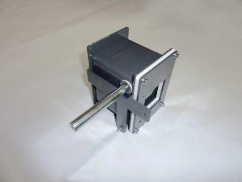 H0420 kompletní vzduchová klapka pro zavírání hořáku při topení dřevem
