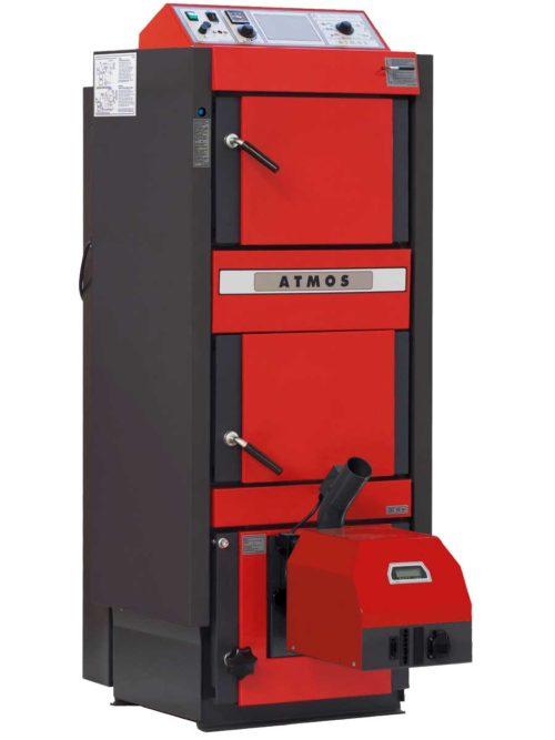 Kombinovany automaticky kotel na drevo a drevene pelety Atmos DC25SP