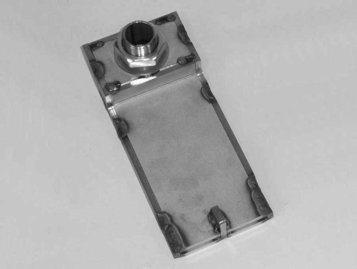 H0533 kanál pneumatického čištění se zajišťovací maticí a podložkou