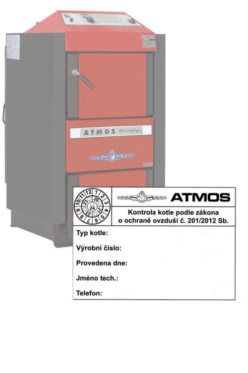 Kontrola revize kotle atmos podle zakona o ochrane ovdusi