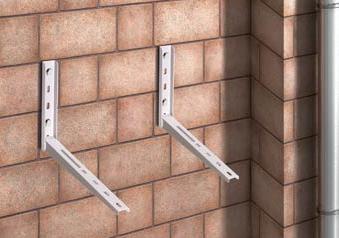 Konzole na zed pro venkovni jednotku klimatizace Drazice